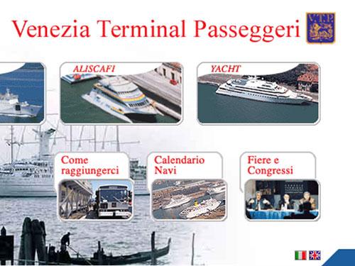 Venezia Terminal Passeggeri – website
