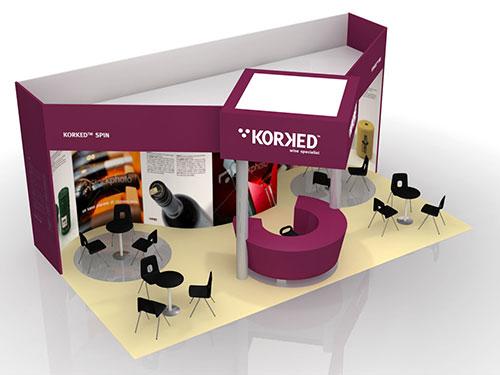 Korked – Stand e prodotto