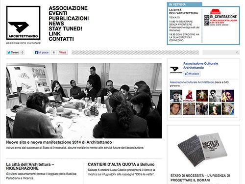 Architettando – website