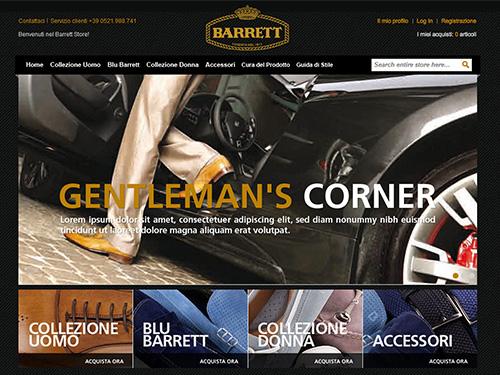 Barrett – Ecommerce