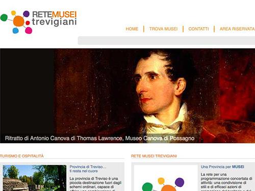 Sistema Museale della provincia di Treviso – website