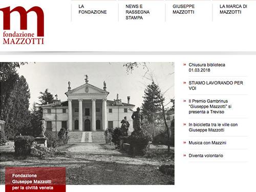 Fondazione Mazzotti – website