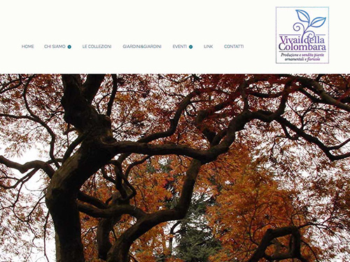Vivai della Colombara – website