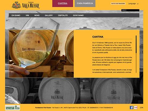 Fondazione Villa Russiz – website
