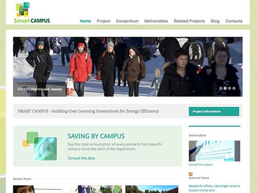 Smart Campus – website