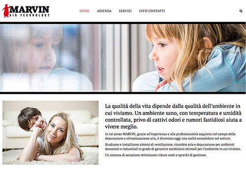 Marvin Air Technology – website