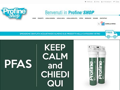 Profine Shop – ecommerce