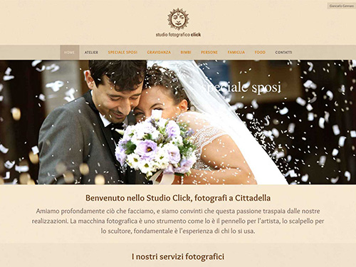 Studio Fotografico Click – website
