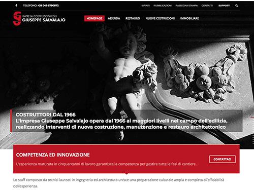 Impresa costruzioni edili Giuseppe Salvalajo – website