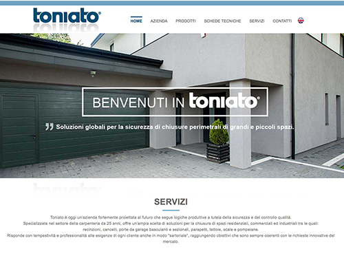 Toniato – website