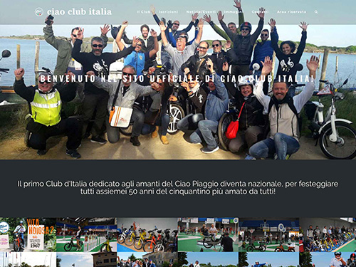 Ciao Club Italia – website