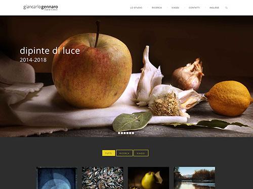 Giancarlo Gennaro – website